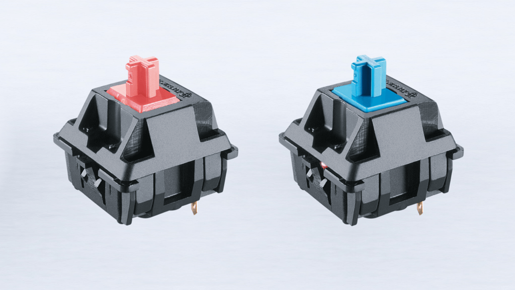 Cherry MX Red Blue Switch options