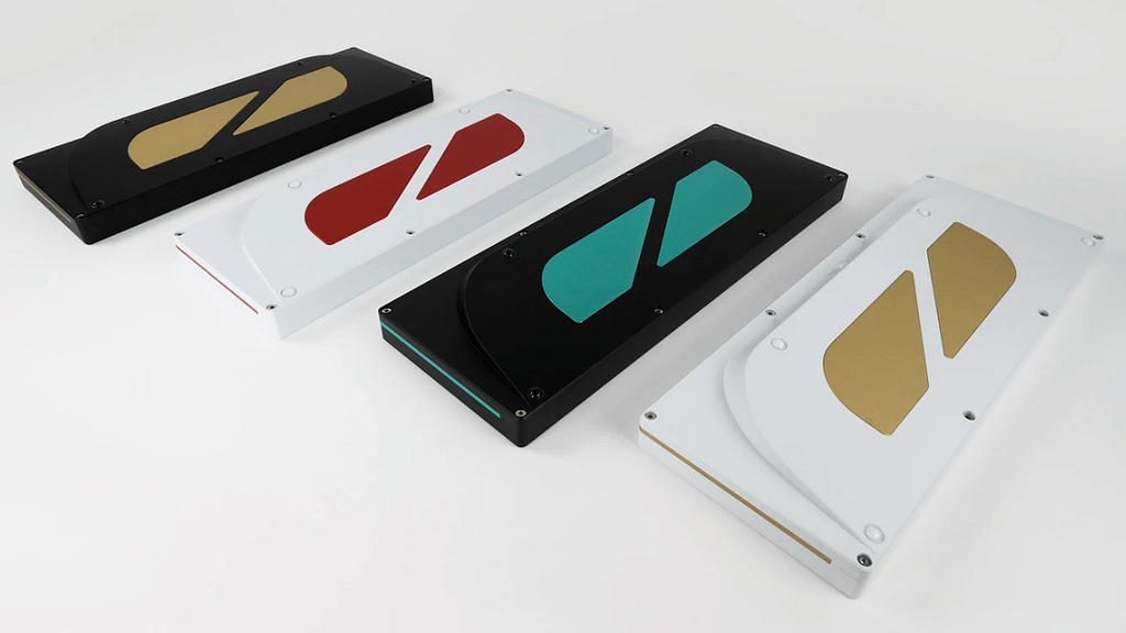 KeyCult 60 mechanical keyboards showcasing real panel with different color pallets