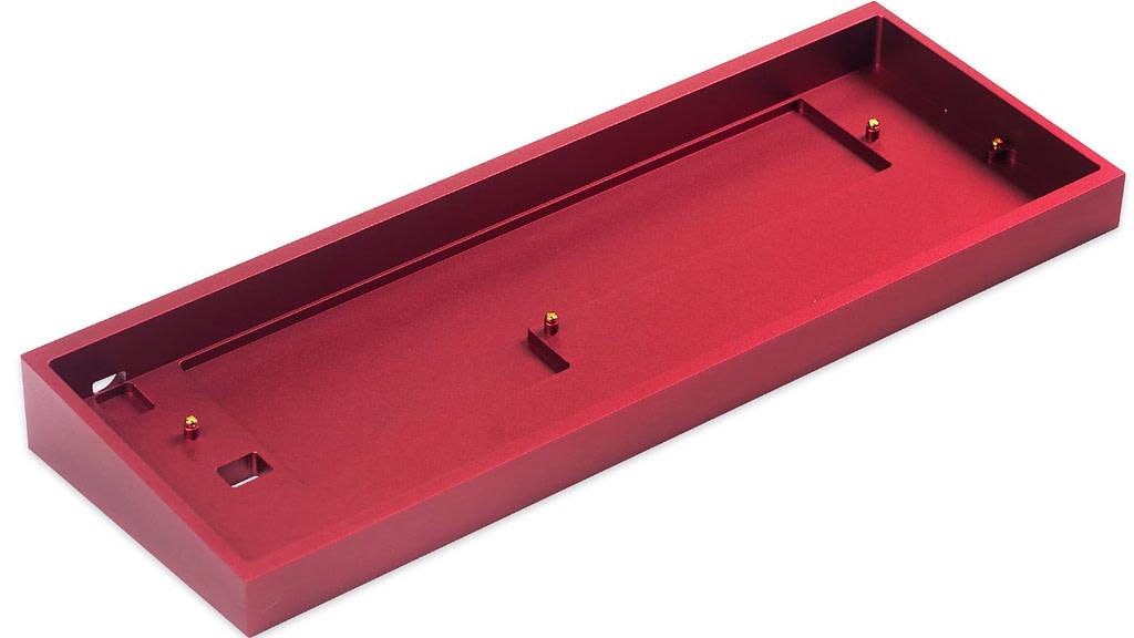 TOFU Red 60% Gaming Keyboard case