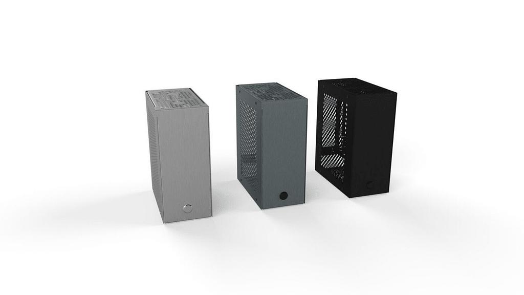 The Velkase Velka 3 small PC case range