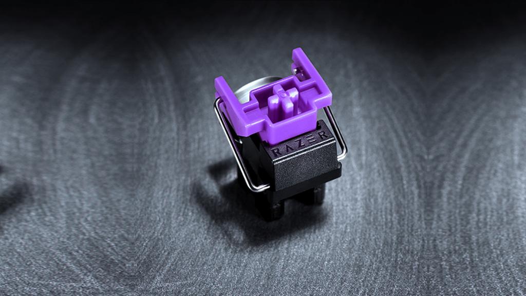 Razer's purple clicky optical switches